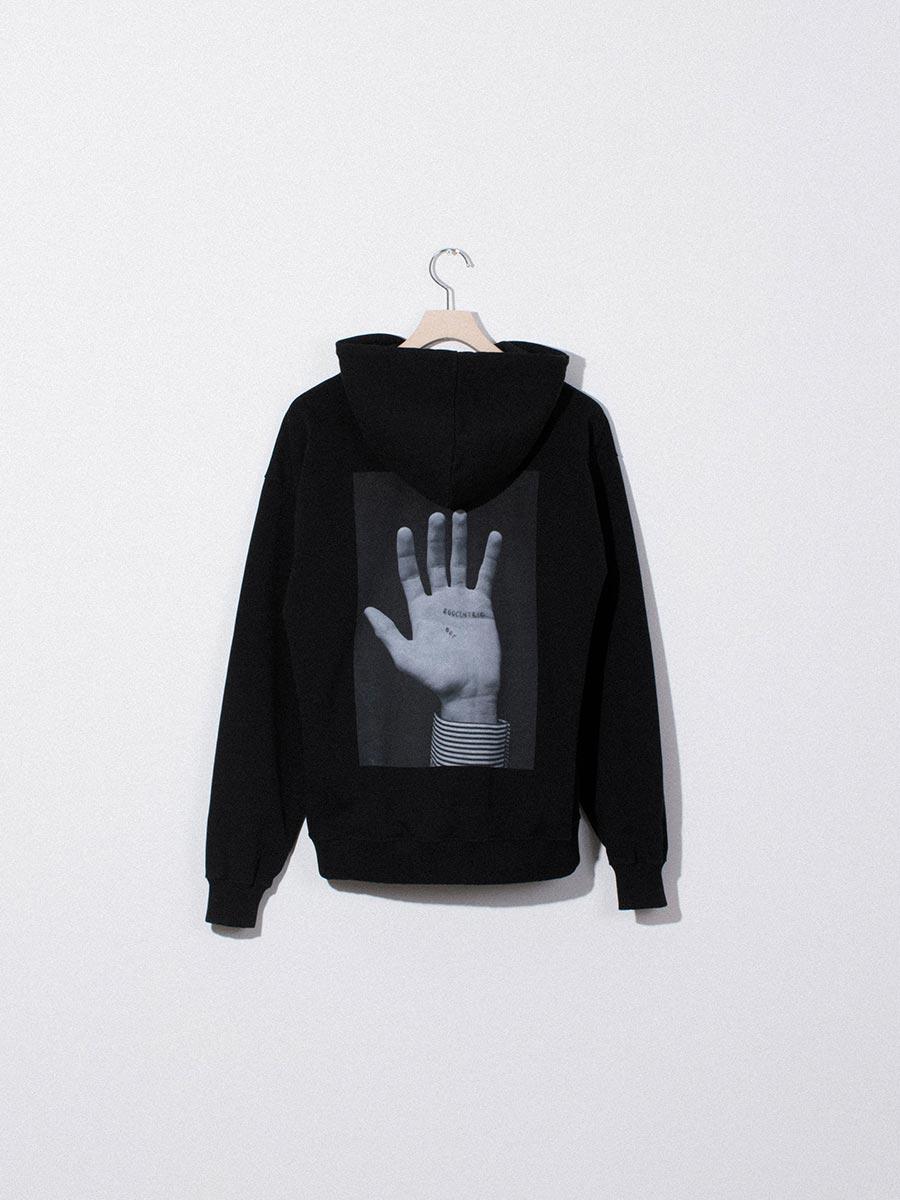 nighthawks dust capsule big hand black hoodie