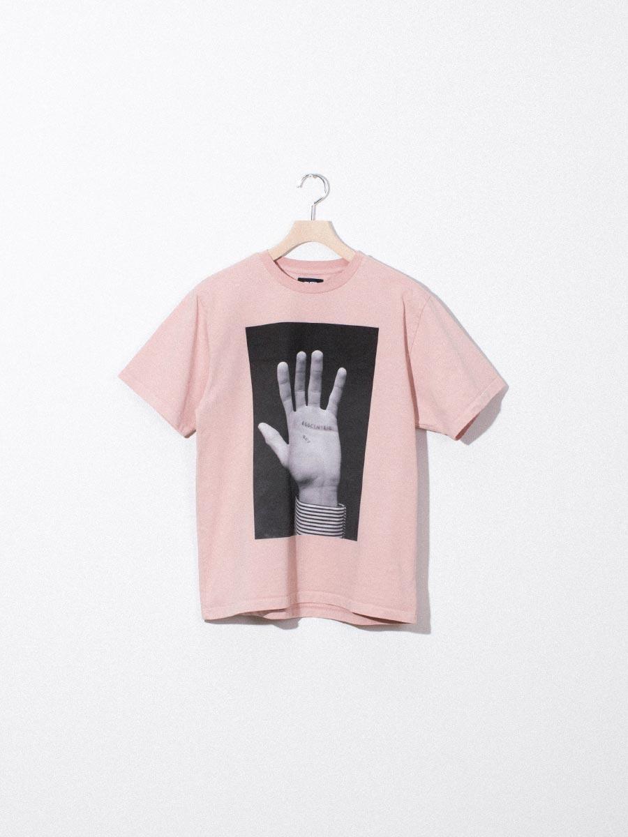 nighthawks dust capsule ego hand pink tshirt