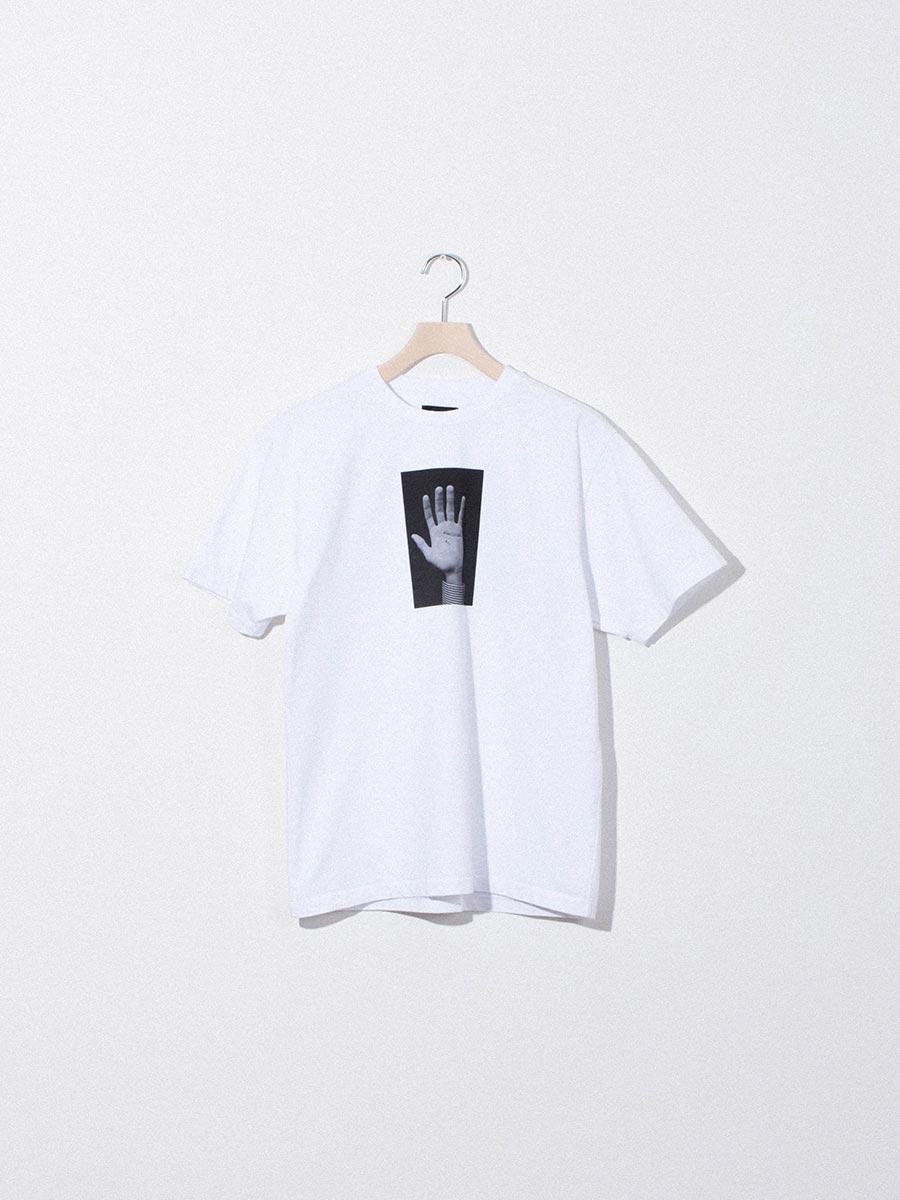 nighthawks dust capsule ego small hand white tshirt